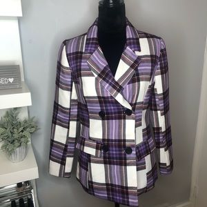 CHARLOTTE RUSSE Striped Blazer
